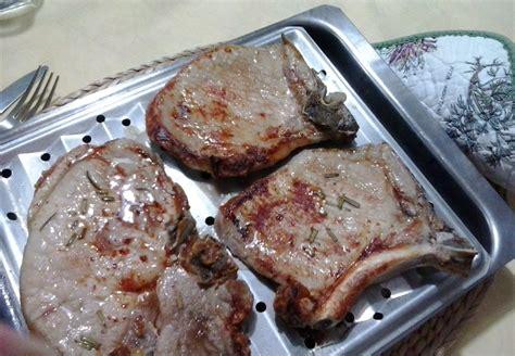 come cucinare bistecca di maiale bistecche di maiale alla griglia in cucina con zia lora