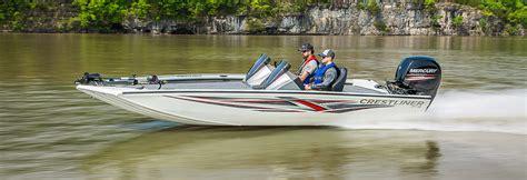 crestliner boats customer service crestliner pt 18 18 ft flat bottom aluminum bass boat