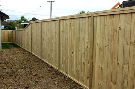 shiplap nz wooden timber shiplap fence built by auckland