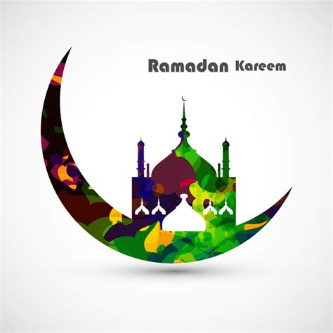 ramadan pattern vector free vector illustration arabic islamic calligraphy colorful
