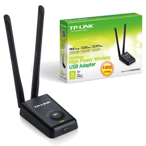 Wifi Dongle Tplink Tl Wn8200nd 1 tplink tl wn8200nd 300mbps high power wireless usb adapter silicon pk