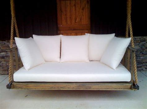 Daybed Porch Swing A Porch Daybed Swing Inspiration