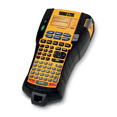 Asli Impor Label Maker Touch Display Panel For dymo rhino 5200 industrial label maker cary kit with 2 import it all