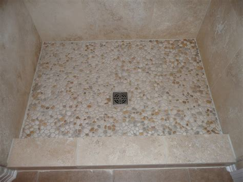 riverstone tile bathroom ideas pebblestone flooring for ensure the highest quality