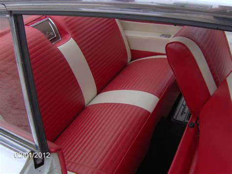 Vehicle Interior Upholstery by Classic Striped Impala S Quality Auto Upholstery