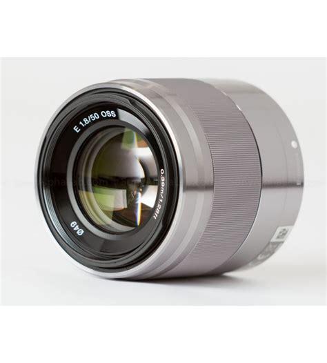 Sony E 50mm F 1 8 Oss Lensa Kamera sony 50mm f1 8 oss e mount lens
