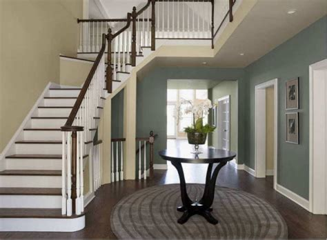 Foyer Colors Ideas interior painting costs make a statement with color