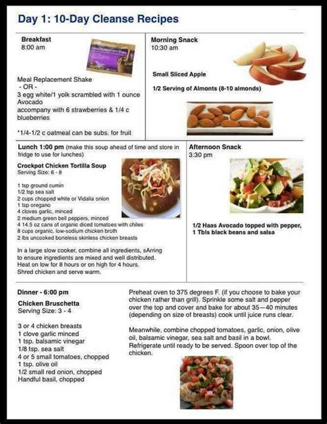 Ecology Phase 1 Soup Recipe Detox by 17 Best Ideas About Advocare 10 Day Cleanse On
