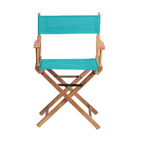 home decorators collection teal director s chair cover