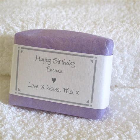 Handmade Soap Company - personalised handmade soap for by lovely soap company
