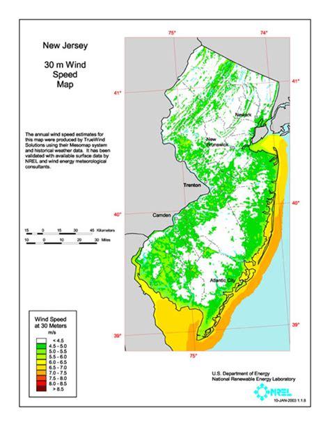 new jersey design wind speed map wind raritan inn b b nj