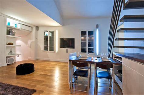 modern duplex apartment design  paris idesignarch