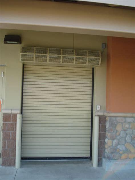 Garage Door Air Curtain Best Home Design 2018 Performance Garage Doors