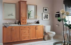 bathroom vanity hutch cabinets shaker cinnamon bathroom cabinets for the home