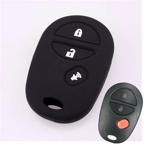 Toyota Tundra Key Fob Silicone Key Cover Fit For Toyota Tacoma Tundra Car