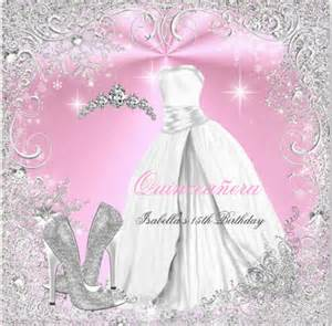 Free Quinceanera Invitations Templates by 18 Quinceanera Invitation Templates Free Sle