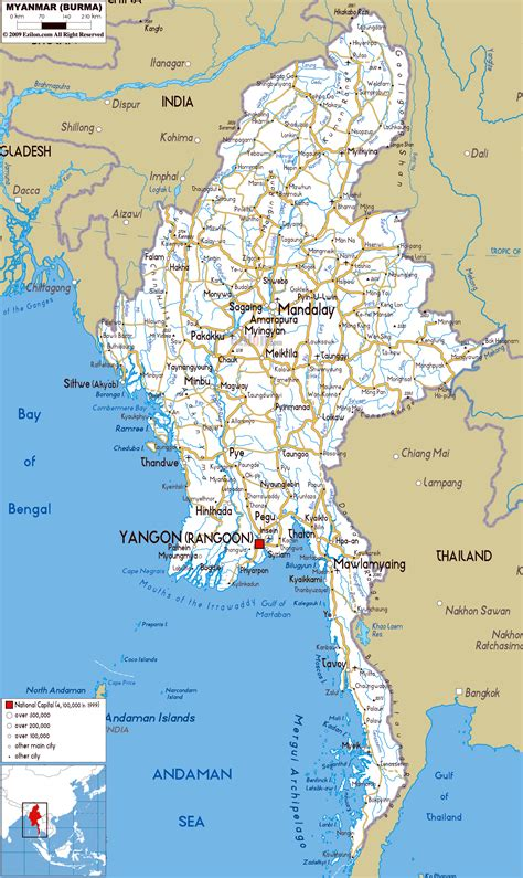 What A Map maps update 800800 tourist map of myanmar myanmar