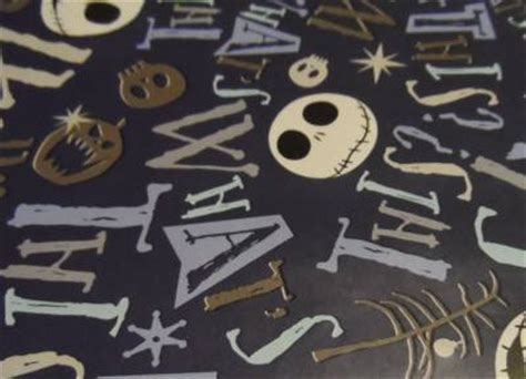 wrapping paper nightmare before christmas 3 33ft x 4ft