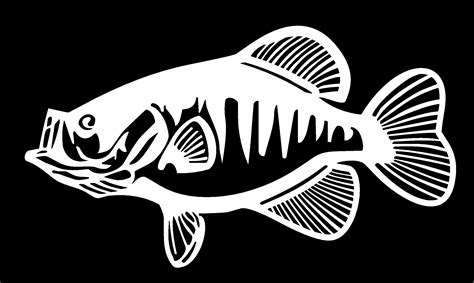 Ea Cutting Sticker Decal Code Is Mu3d F Musholla crappie fishing silhouettes vectors clipart svg