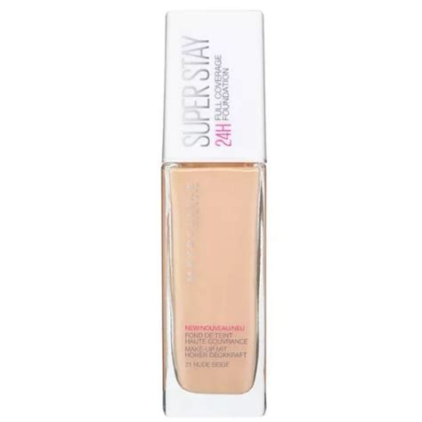Maybelline Superstay 24hr Foundation maybelline superstay 24hr coverage foundation reviews