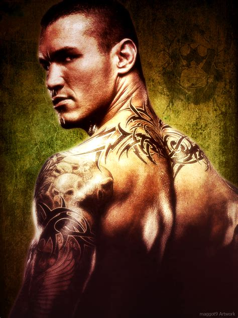 randy orton back tattoo randy orton s recent tattoos wallpapers the youngest
