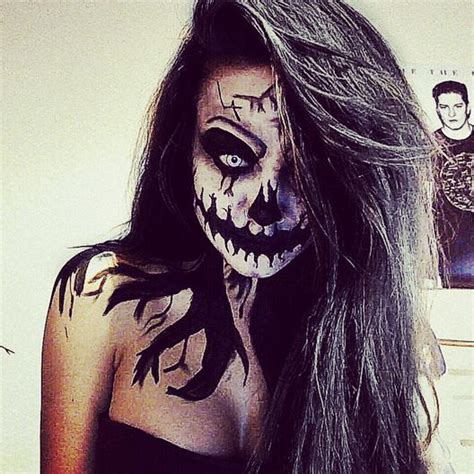 44 Best Images About Scary by As 25 Melhores Ideias De Maquilhagem Do Dia Das Bruxas