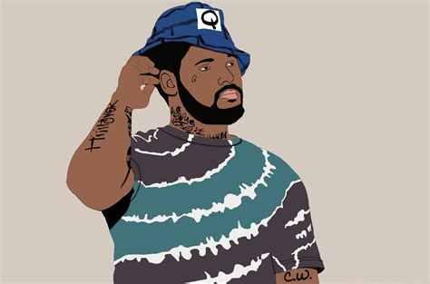 Schoolboy Q Drawing by Schoolboy Q Fan Took About 5 Hours Total Schoolboyq