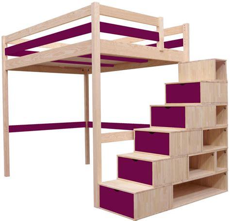 Délicieux Lit Mezzanine 2 Places Escalier #1: 817e491a9c21821e266510e2c2cafc94.jpeg