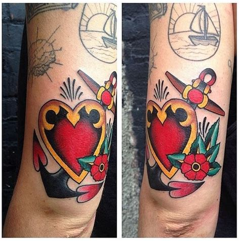 sailor jerry heart and anchor tattoo zoo