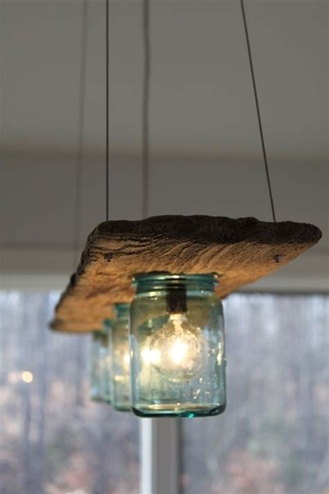 Reclaimed Wood Light Fixture by Easy Redecorating Tips For The Kitchen