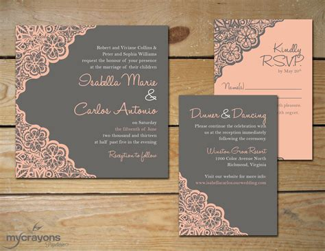 etsy wedding invitation template etsy rustic wedding invitations etsy rustic wedding