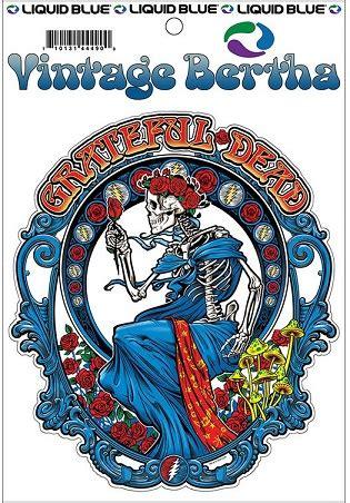 Vintage Grateful Dead Stickers