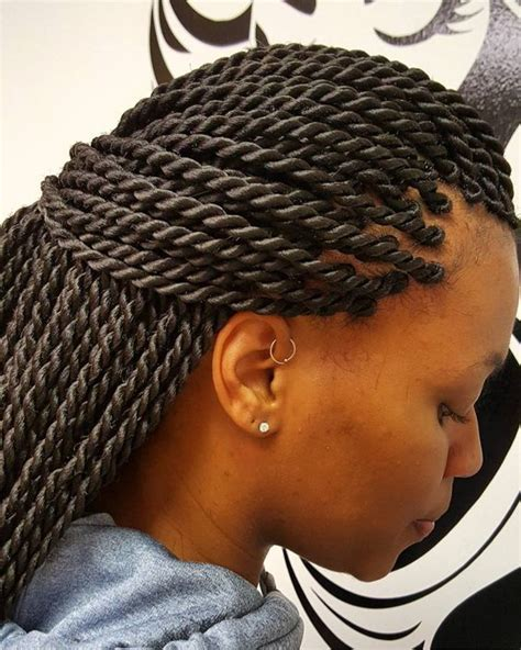 Braids Twist Hairstyles by Neat Ropes Luscioushairbraiding Http Community