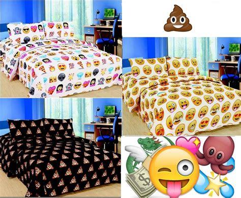 emoji bed emoji emotion pooh smiley faces pizza duvet cover bedding