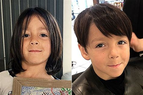 face slimming haircuts before and after how a haircut turned my small boy into a mini man in the