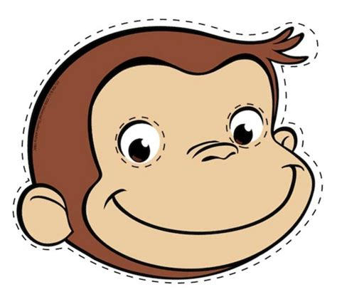 Curious George Cake Template curious george hairstyles