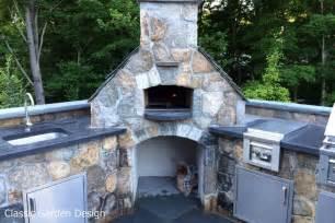 Outdoor kitchen amp pizza oven westport ct classic garden design llc