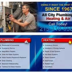 All City Plumbing by All City Plumbing Heating Air Idraulici 515 W