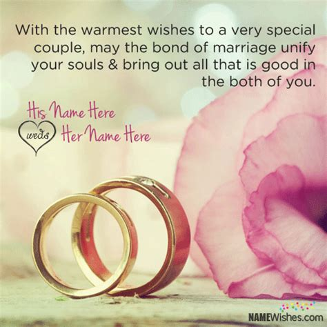 Wedding Wishes Editing by Wedding Wishes With Quote And Name Editing