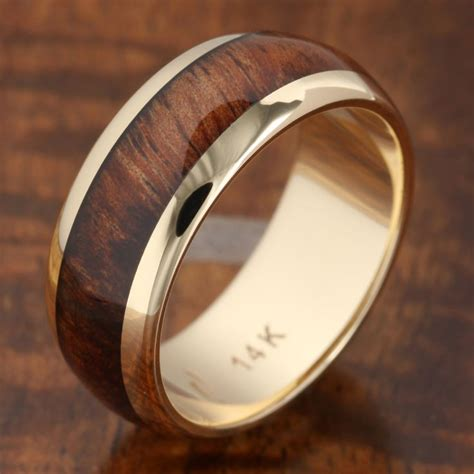 25  best ideas about Wood Inlay Wedding Band on Pinterest