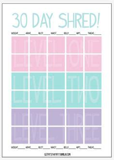 Calendar 30 Days From Today 30 Day Shred On 30 Day Shred 30 Day Shred