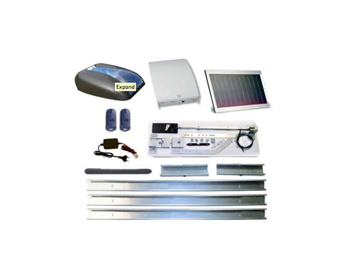 Solar Powered Garage Door Opener 8990 Solar Powered Garage Door Opener Torantriebeshop