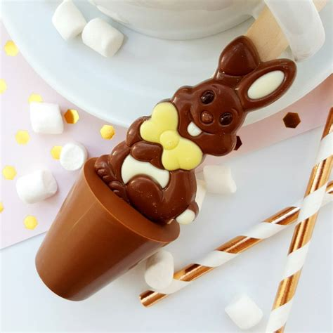 easter chocolate easter hot chocolate spoon bundle by cocoa delicious