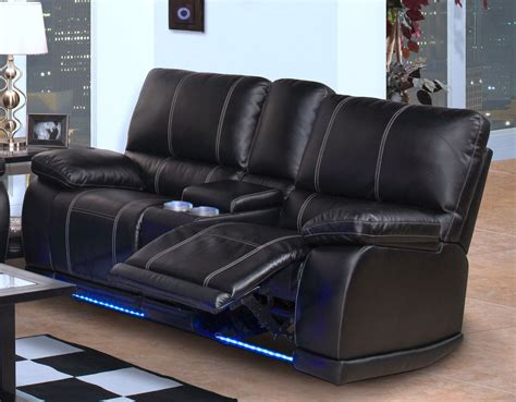 Black Recliner Sofa by Black Leather Sofa Recliner Grey Leather Reclining Sofa