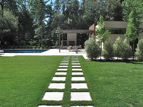contemporary residential garden design