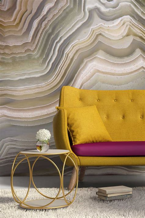 Gold Agate Wall