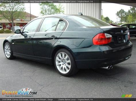 2006 bmw 3 series 330i 2006 bmw 3 series 330i sedan green metallic beige
