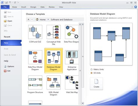 visio database model diagram visio database template free visio database