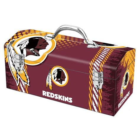 redskins paint colors home depot team promark 7 2 in washington redskins nfl tool box 79