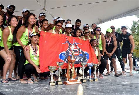 dragon boat festival 2018 tobago aquaholics star in bago dragon boat trinidad and